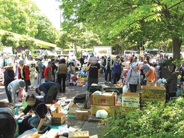 船橋市行田公園フリーマーケット