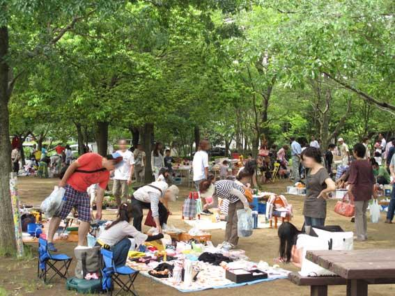 佐倉市七井戸公園フリーマーケット